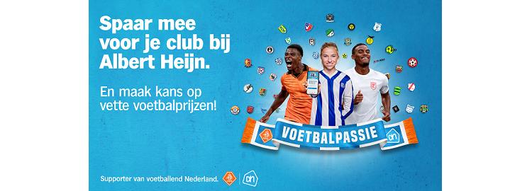 13 september t/m 3 oktober bij Albert Heijn Voetbalpassiepunten sparen voor Achilles via de AH-app