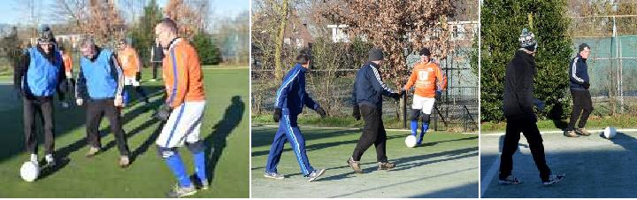 Walking Footbal | 3 en 17 februari bij Achilles Reek | van 10:00 tot 11:00 uur |  inloop vanaf 9:30 uur